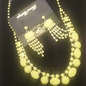 Park Lane necklace and earrings set